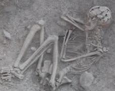 murdered warrior in aktopraklık tumulus